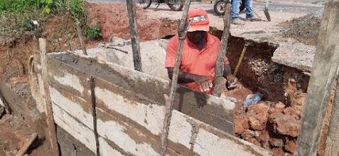 Prefeitura dá continuidade às obras de recuperação de galerias em Trizidela do Vale