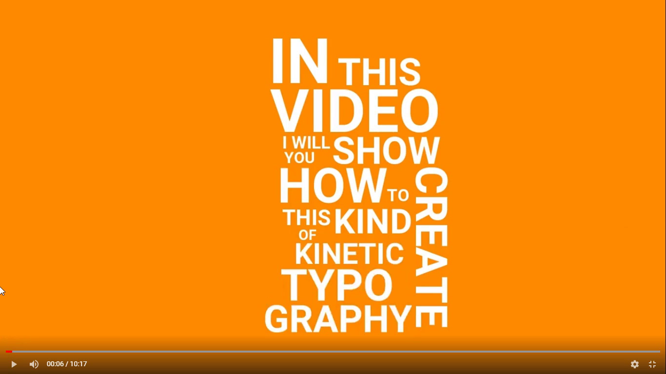 fast typography title free template download