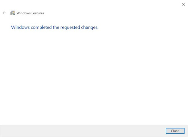 How to Solve Windows Framework 3.5 Missing Problem