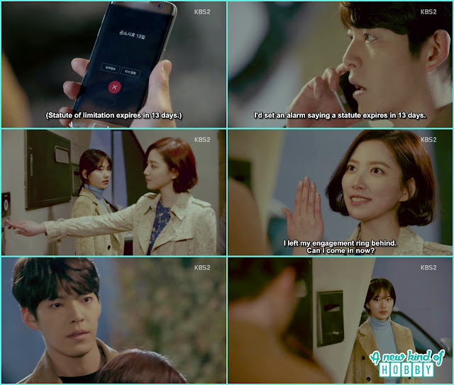 Jeon Eun hug Joon Young infront of Noh Eul - Uncontrollably Fond - Episode 16 Review