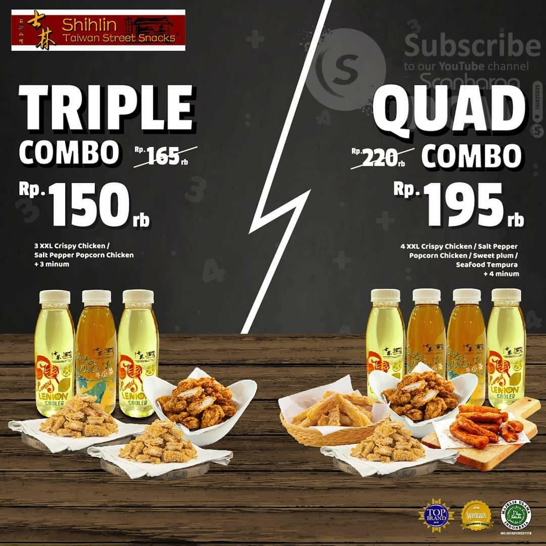 Promo SHIHLIN Paket Triple & Quad Combo Harga mulai 150K
