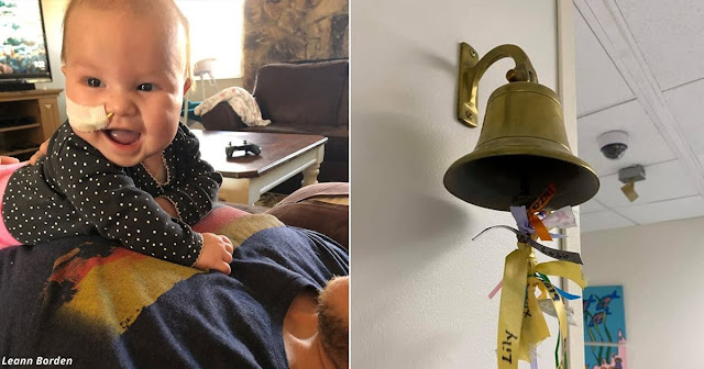 После тяжёлой битвы с раком мозга 4-месячный ребёнок победил его. Есть видео