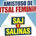 Seleção Feminina de Futsal de SAJ faz amistoso neste domingo