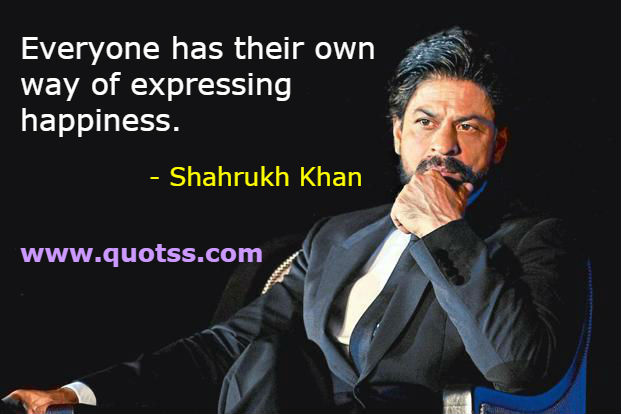 Top 10 Motivational Quotes By Shahrukh Khan On Quotss Com