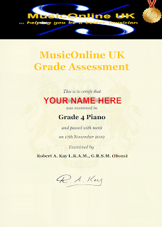 To get YOUR MusicOnline UK Grade assessment click HERE