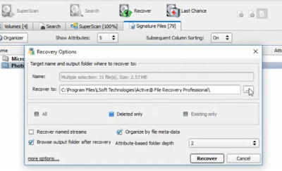 cara mengembalikan data yang hilang