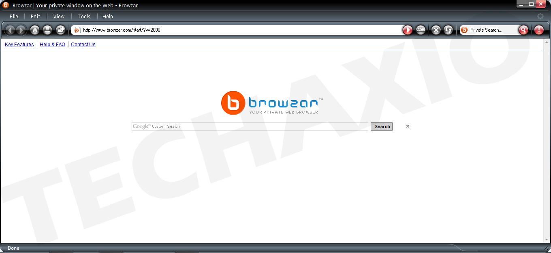 Browzar Browser Screenshot