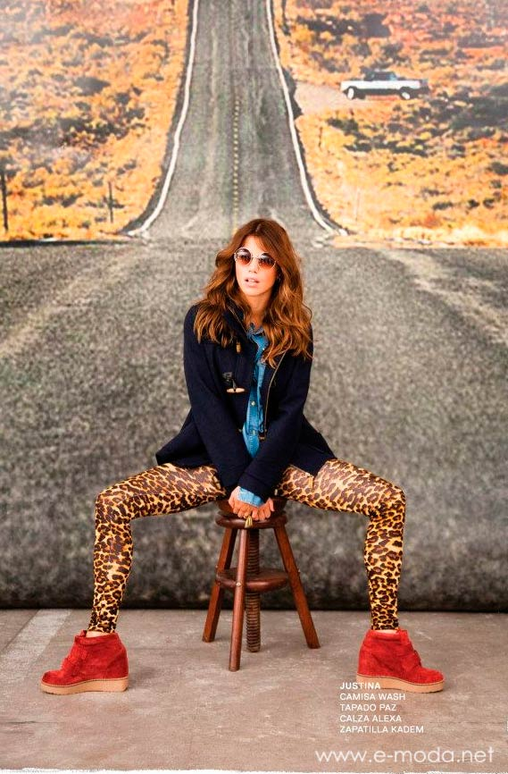 pantalon animal print 47 Street invierno 2013