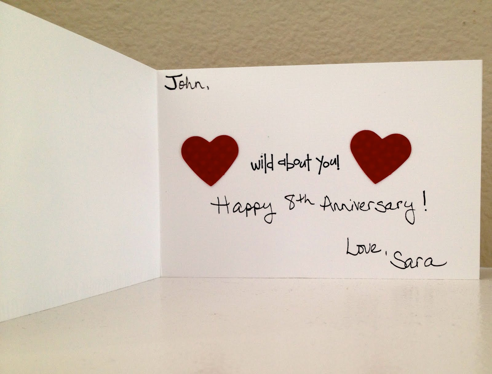1200 Some Miles: Anniversary Card