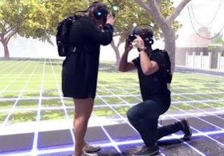 Image/Video: Here is One Way To Propose To The Love of Your Live in Virtual Reality(VR)