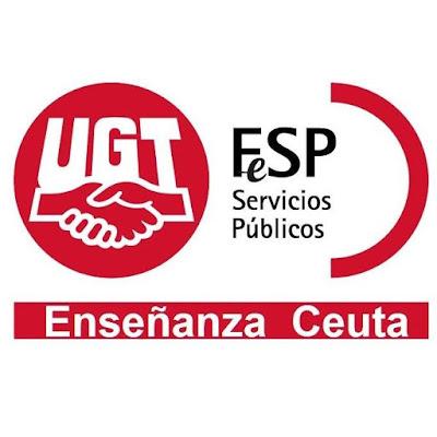 Enseñanza UGT Ceuta oposiciones docentes 2020, Enseñanza UGT Ceuta informa, Enseñanza UGT Ceuta, Blog de Enseñanza UGT Ceuta