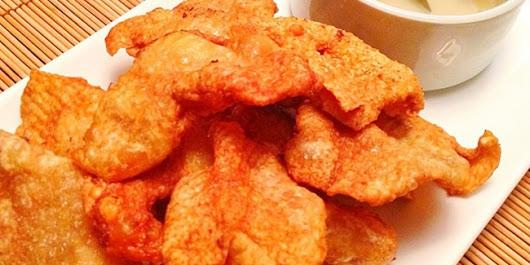 Resep Masakan Kulit Ayam Garing Pedas Gurih