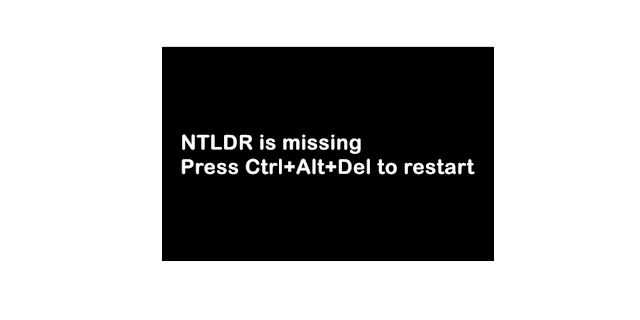 Cara Mengatasi Error NTLDR is Missing-anditii.web.id