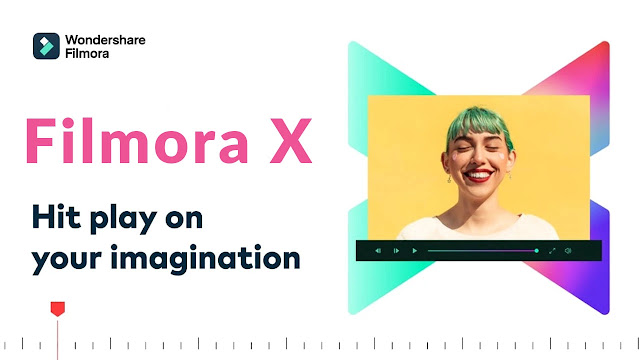 Filmora Software Editing Video
