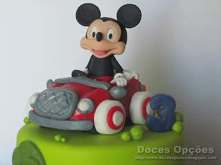 disney mickey cake sugar paste