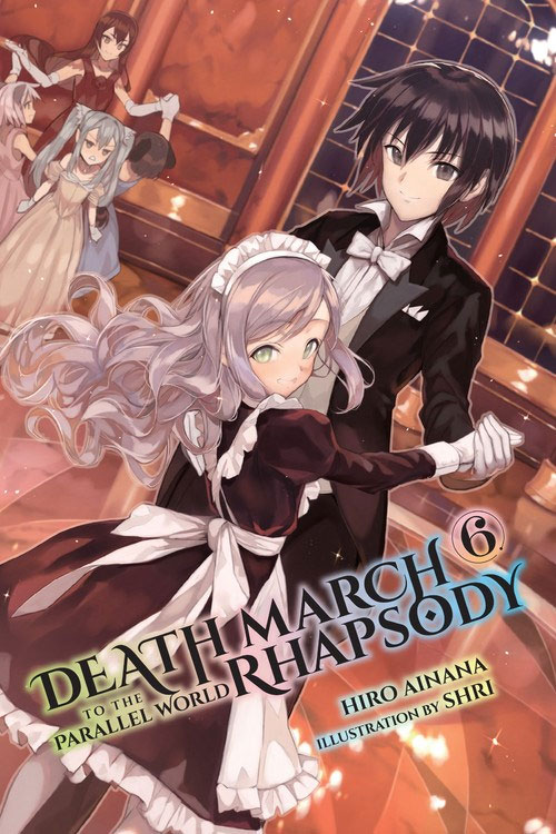 Death March to the Parallel World Rhapsody Ilustrações Lightnovel Volume 06
