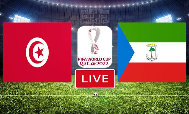 Match Tunisie vs Guinée équatoriale En Direct | Qualifications pour la Coupe du Monde de la FIFA, Qatar 2022