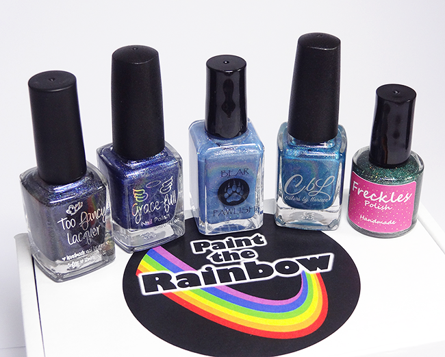Paint The Rainbow Indie Polish Box