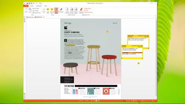 برنامج قارئ الملفات Nitro PDF Reader