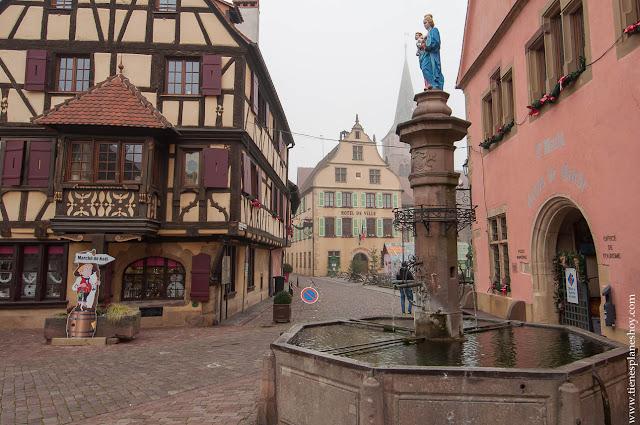 Turckheim Alsacia viaje Navidad