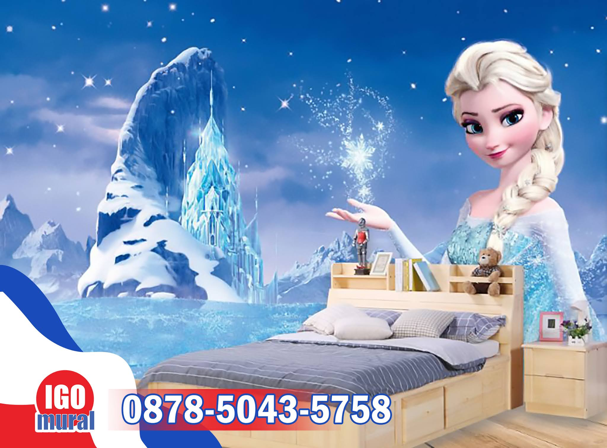wallpaper dinding frozen