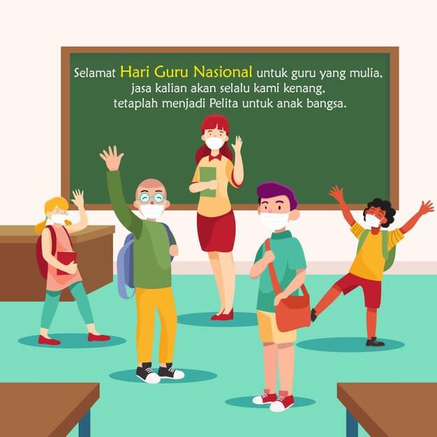 kartu ucapan selamat hari guru nasional