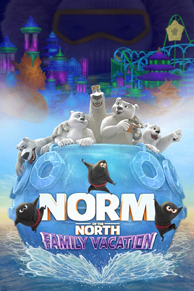 Norm of the North Family Vacation 2020 English Full 900MB HDRip Download
