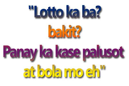 tagalog pick up lines of lovers