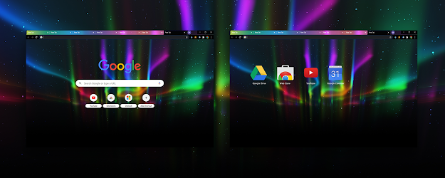 Aurora Google Theme  | Chrome Web Store