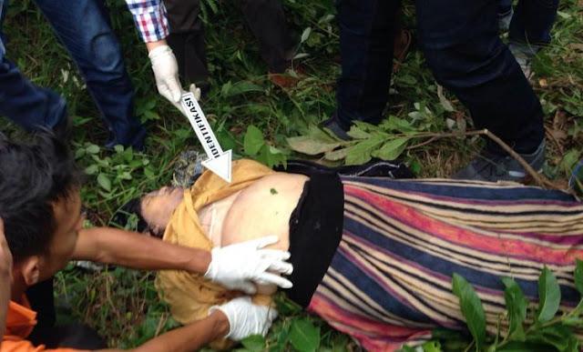 Polisi Ungkap Identitas Mayat Perempuan Tanpa Celana