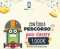 Logo Smartphonsers: scarica l'APP, viaggia sicuro senza telefono e vinci buoni carburante