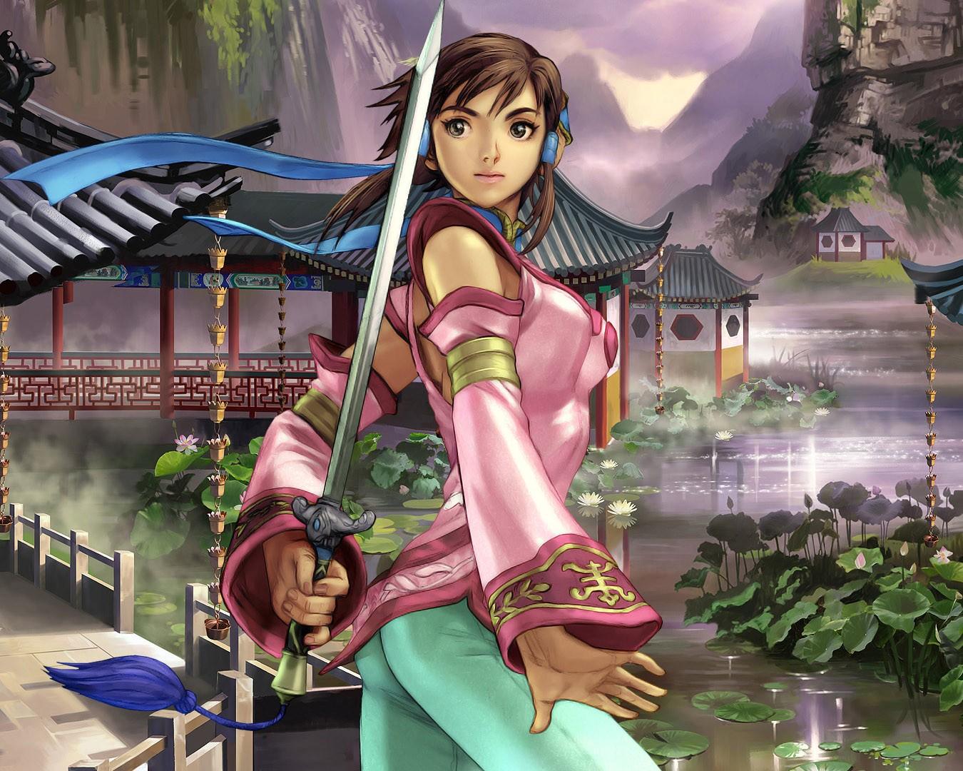 Japan free 13 warrior girls warrior girls wallpapers for - Anime female warrior ...