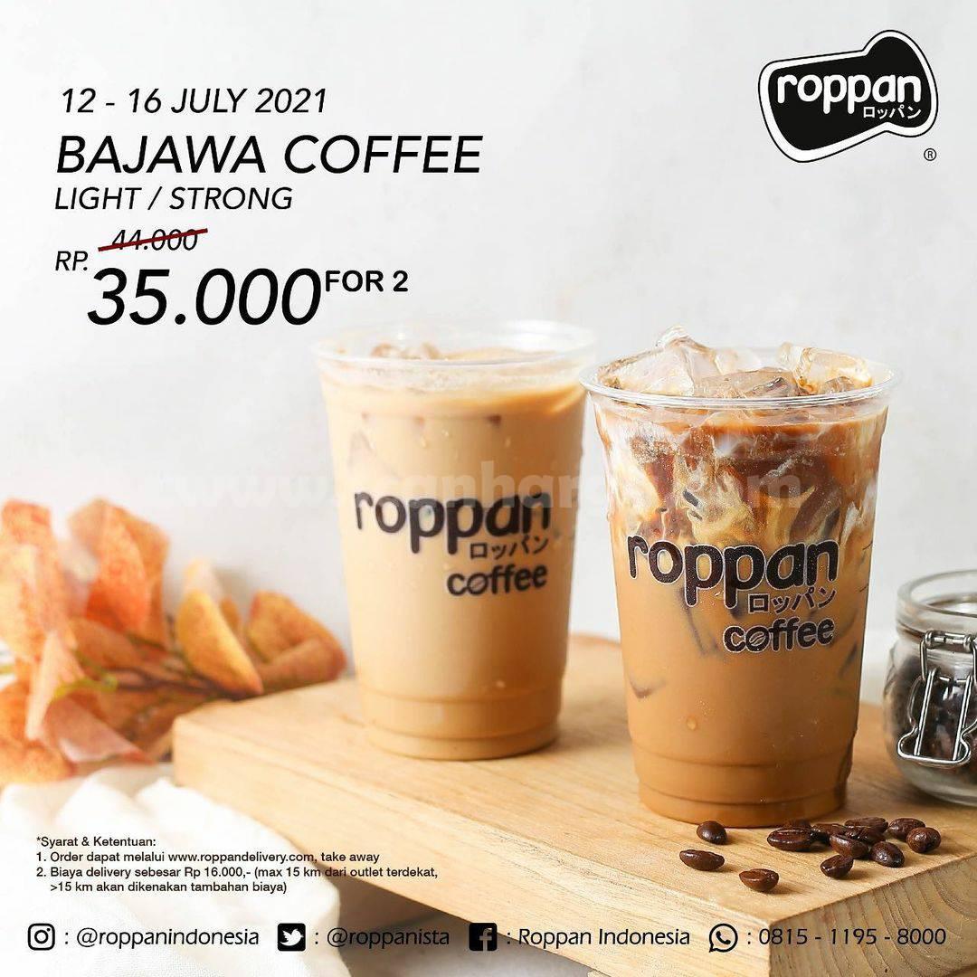 Promo ROPPAN - Beli 2 Bajawa Coffee Light / Strong harga cuma Rp. 35.000