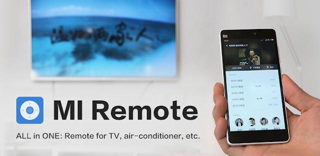 قم بتنزيل جهاز التحكم عن بعد Mi Remote controller - for TV, STB, - تطبيق التحكم في الجهاز الإلكتروني مع هاتف الاندرويد