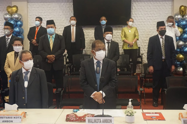 Richard Louhenapessy Harap Tan Indra Tanaya Proakfit di DPRD Kota Ambon.lelemuku.com.jpg
