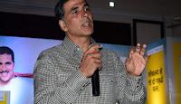 actor akshay kumar launch tqin pit technology in new delhi