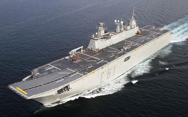 Juan Carlos I (L61) Aircraft Carrier - Espanha