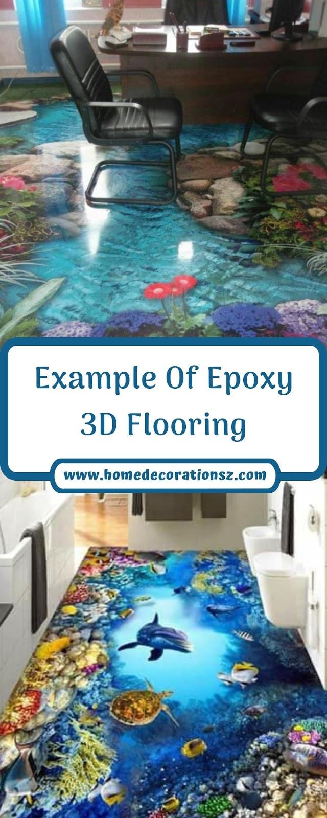 Example Of Epoxy 3D Flooring