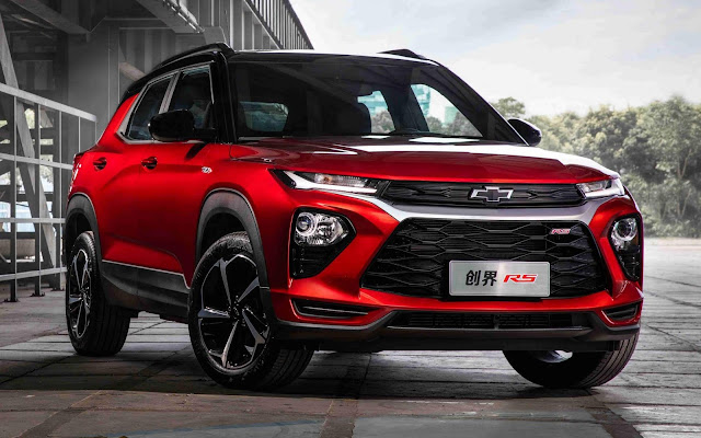 Novo Chevrolet Trailblazer 2020 lançado na China