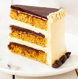 Slice of French Opera Cake