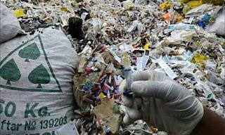 limbah sampah masker