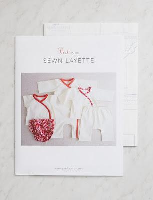 purl soho new born sewn layette modistilla de pacotilla diy minipacotillo baby bebé algodón orgánico