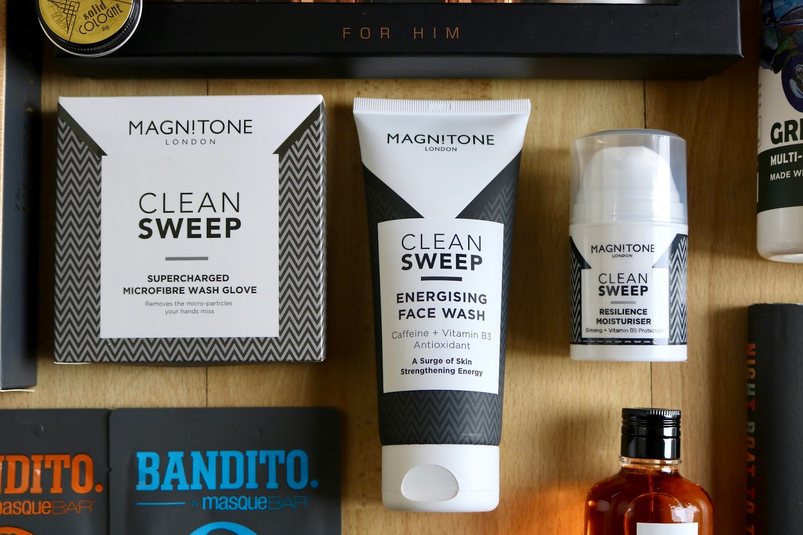 MAGNITONE CLEAN SWEEP MOISTURISER AND CLEANSER