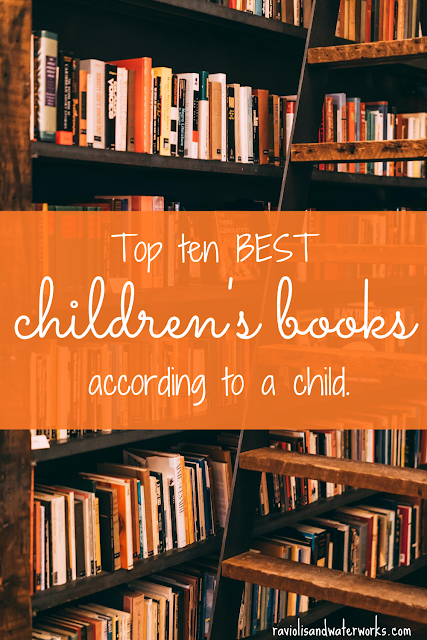 top kid's books; top children's books; what kids are reading today; top book picks for children; books picked out by a child
