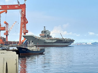 China's 1st indigenous aircraft carrier Type 001A begins sea trial