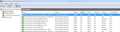 Firewall File Sharing Windows
