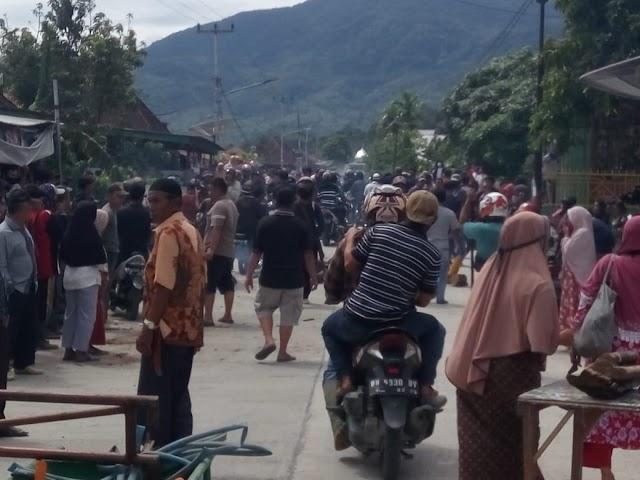 Sudah Persenjatai Diri, Warga Dua Desa Di Kerinci Nyaris Bentrok