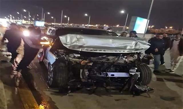 نقل الإعلامي عمردو أديب للمستشفي بعد حادث سير مروع