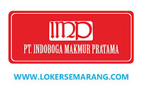 Lowongan Kerja Kudus Lulusan SMA SMK di PT Indoboga Makmur Pratama