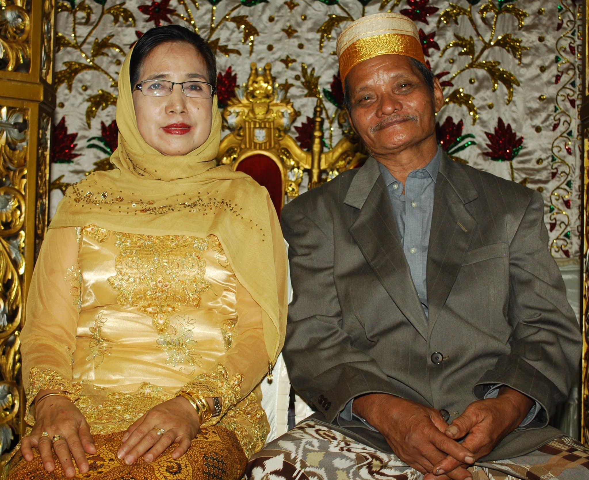 Bapak (alm) dan Mama